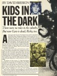 Kids in the Dark - Rolling Stone 11.22