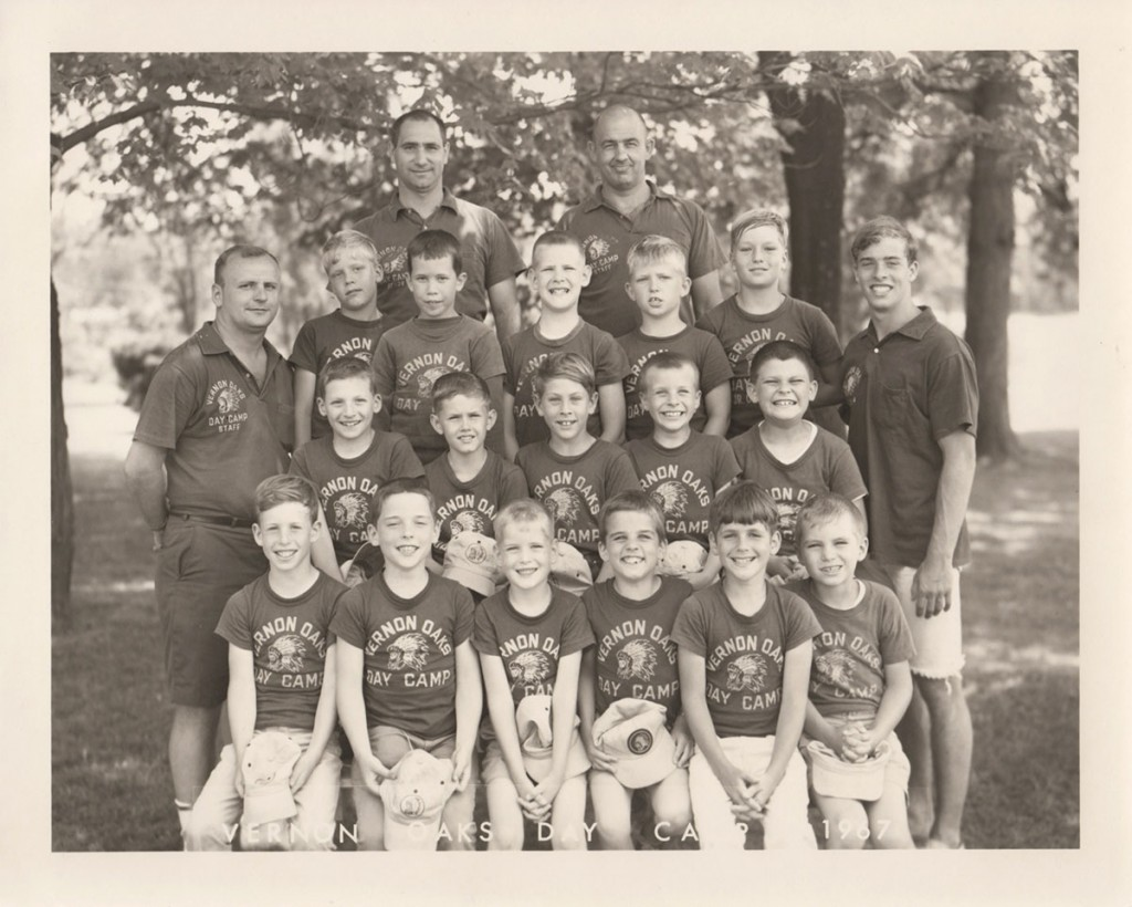 db AT VERNON OAKS DAY CAMP (FRONT ROW, FAR LEFT), 1967