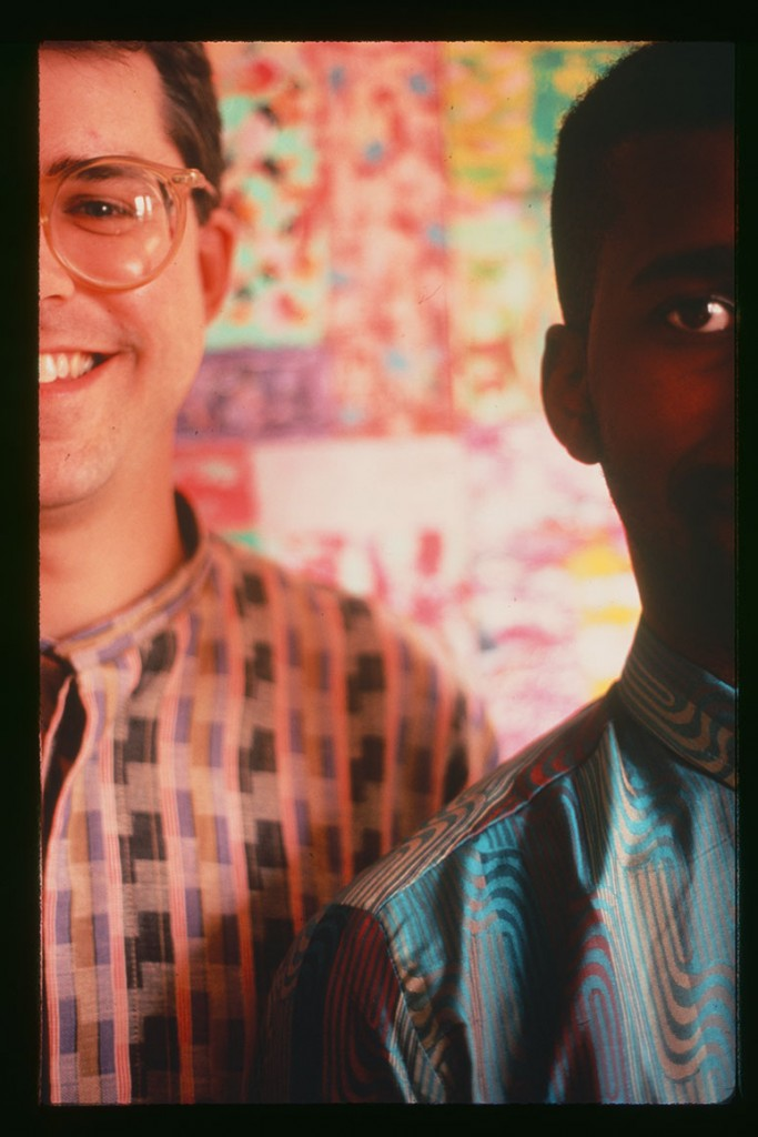 Bill Frisell and Vernon Reid, May 1985