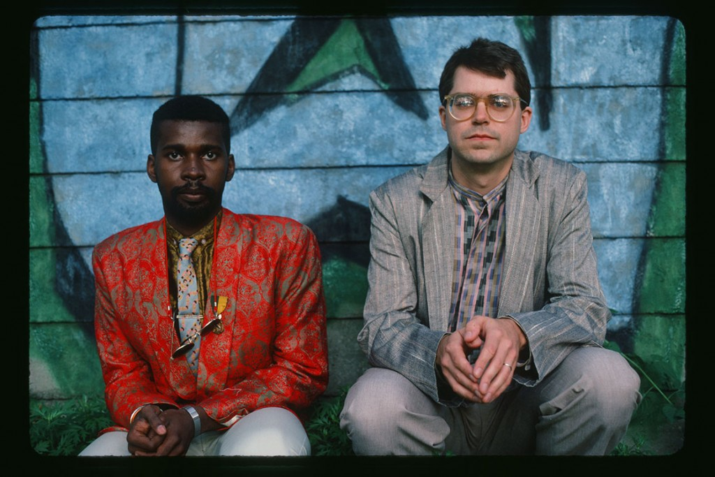 Vernon Reid and Bill Frisell, May 1985