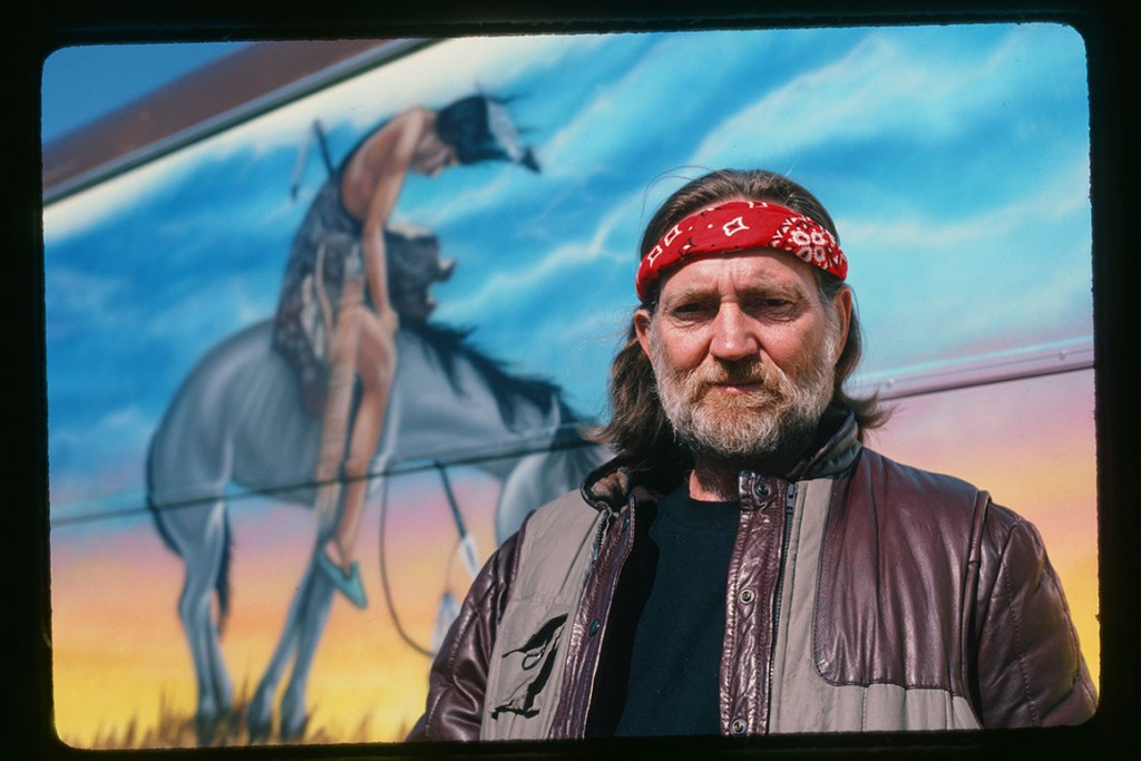 Willie Nelson, April 1982