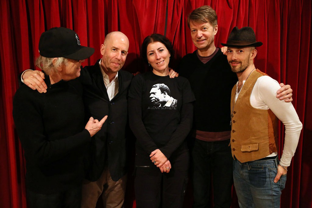 Ron Saint Germain, db, Mimi Chakarova, Nels Cline and Michael Leonhart
