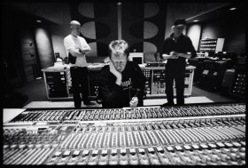 Nels at the board with Saint & db, Ocean Studios, Burbank