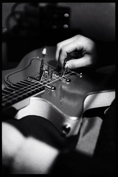 Jeremy Drake, Prepared Guitar, Ocean Studios, Burbank