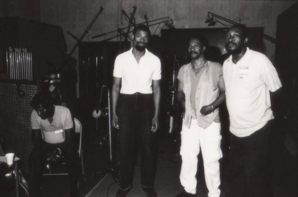 Albert Collins, Melvin Gibbs, Ronald Shannon Jackson and Big John Patton