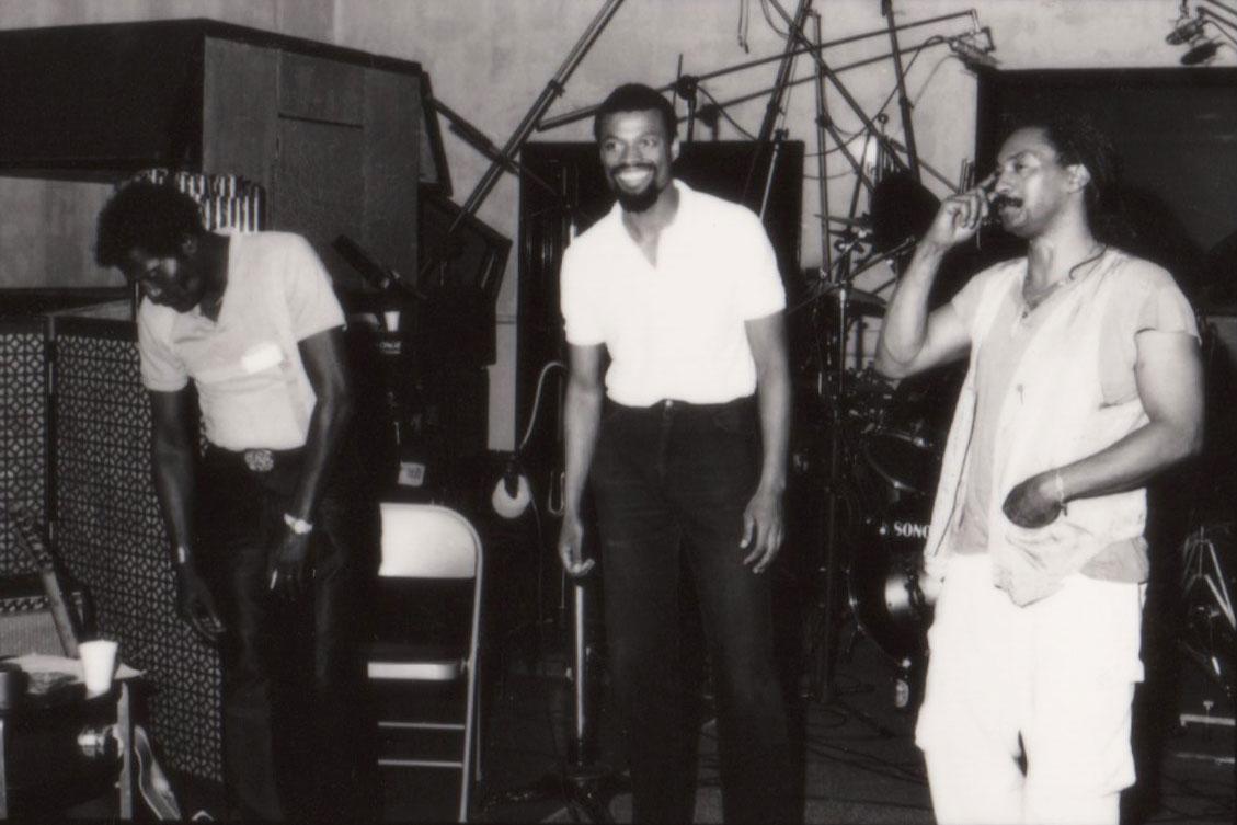 Albert Collins, Melvin Gibbs and Ronald Shannon Jackson