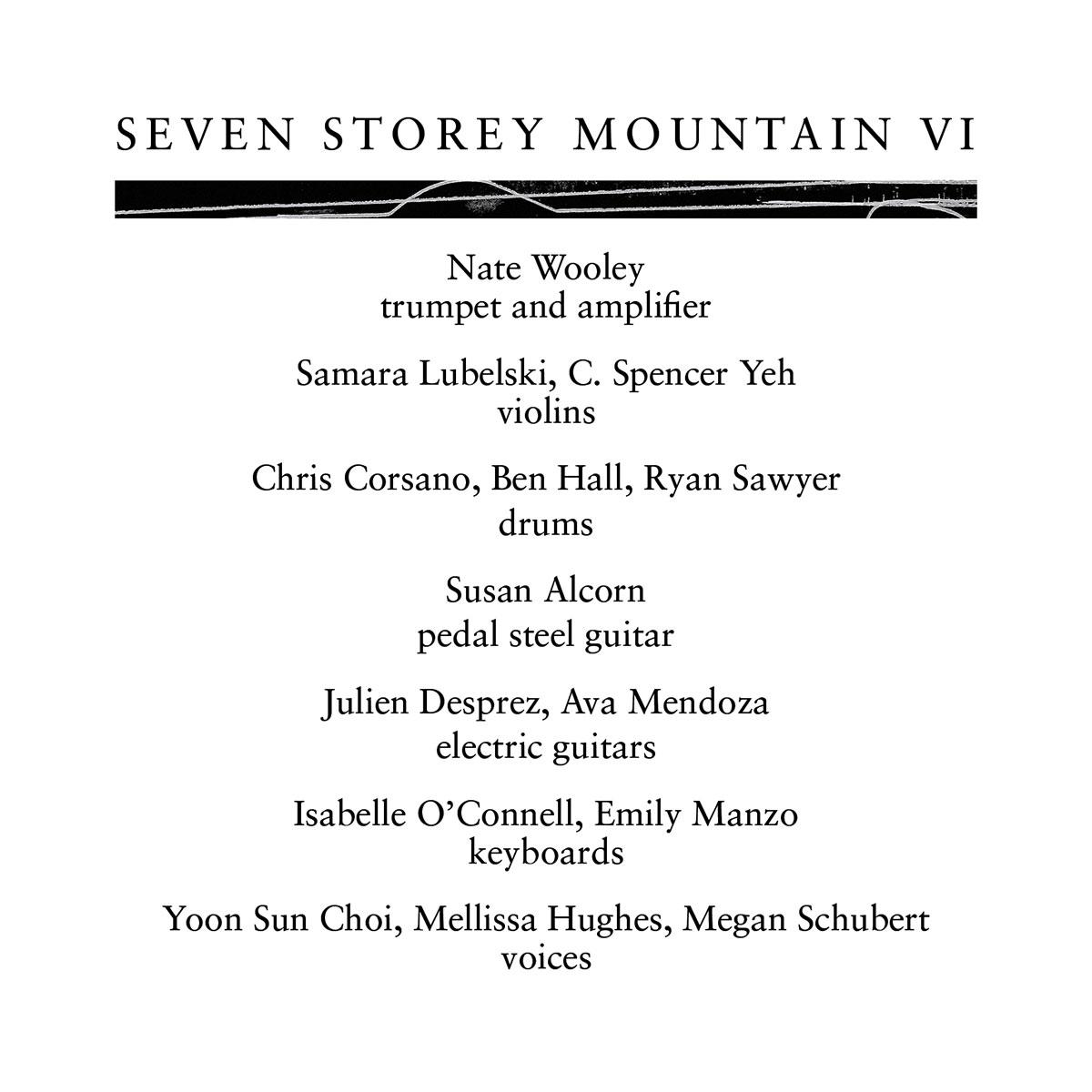 SEVEN STOREY MOUNTAIN VI