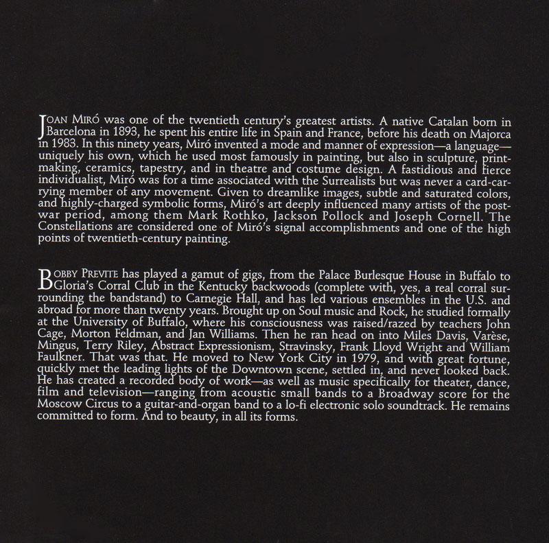 The 23 Constellations of Joan Miro