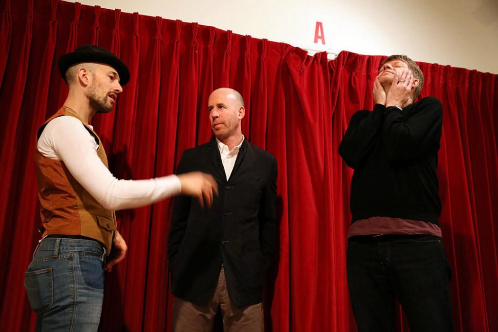 Michael Leonhart, db and Nels Cline