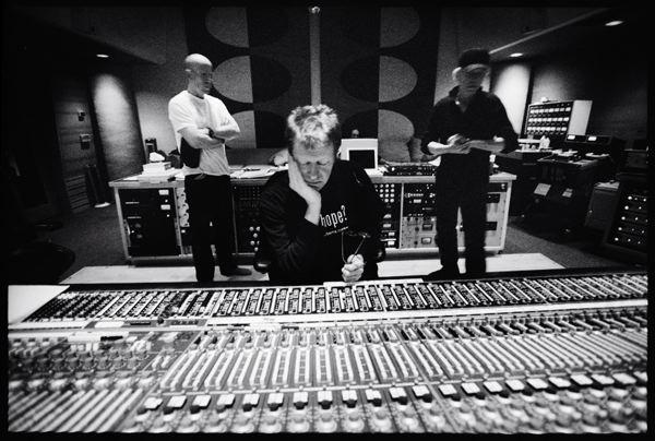 Nels at the board with Saint & db, Ocean Studios, Burbank