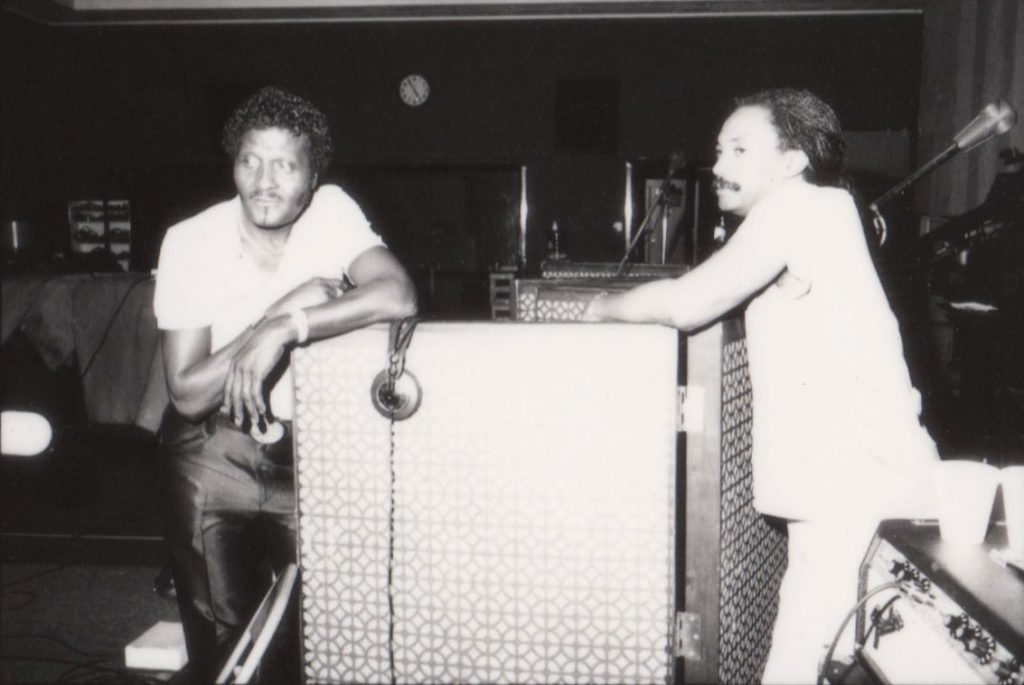 Albert Collins and Ronald Shannon Jackson