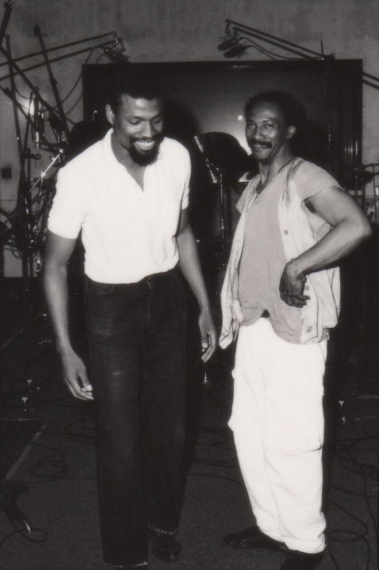 Melvin Gibbs and Ronald Shannon Jackson